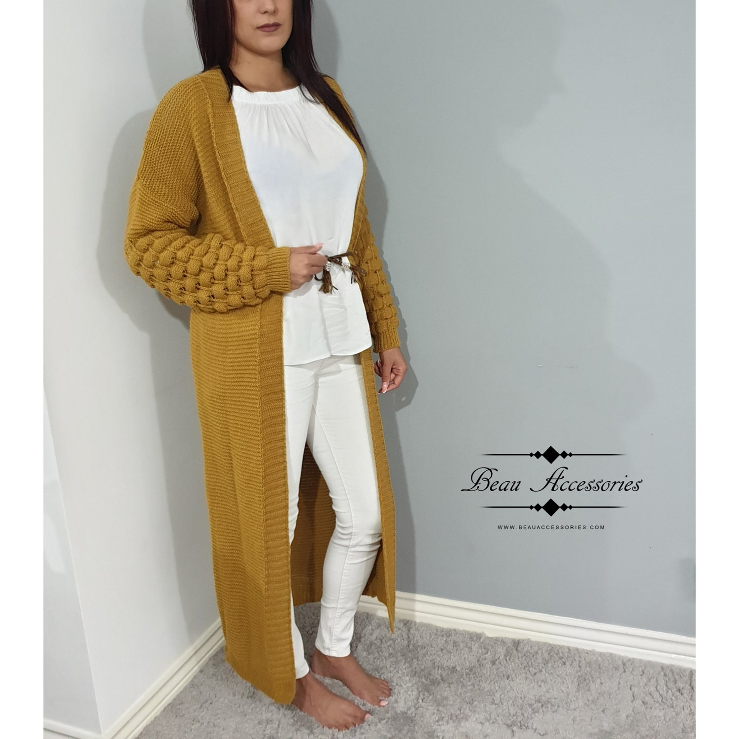 Image of Bubble Sleeve Cardigan (ALL COLOURS)