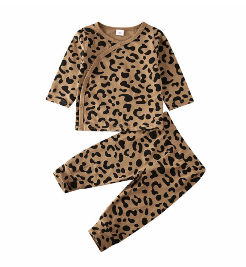 Leopard Lounge Outfit