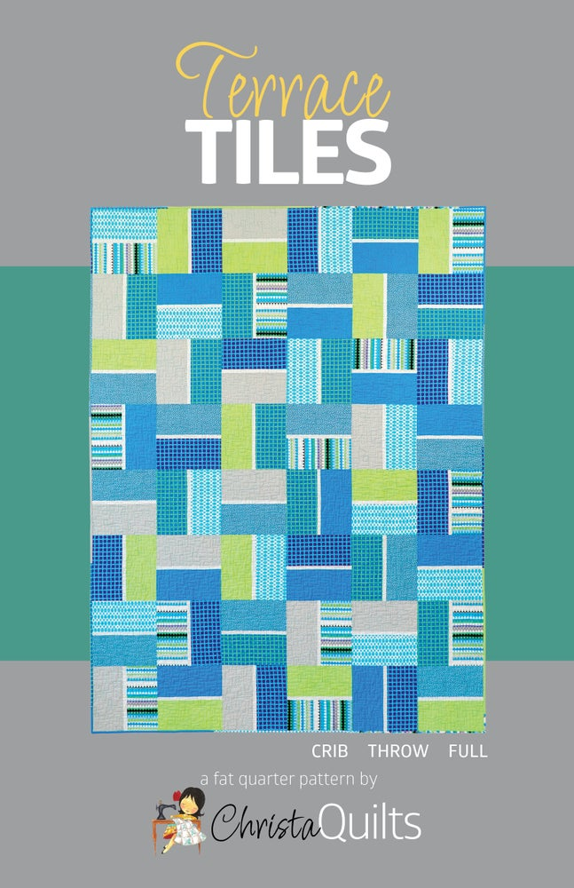 Image of Terrace Tiles Quilt Pattern by Christa Watson (CQ126)