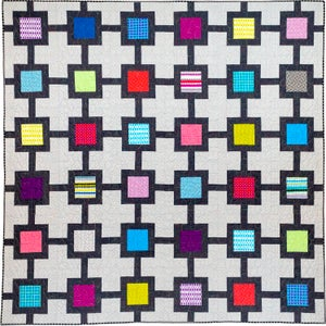 Block Chain Paper Quilt Pattern by Christa Watson (CQ127)