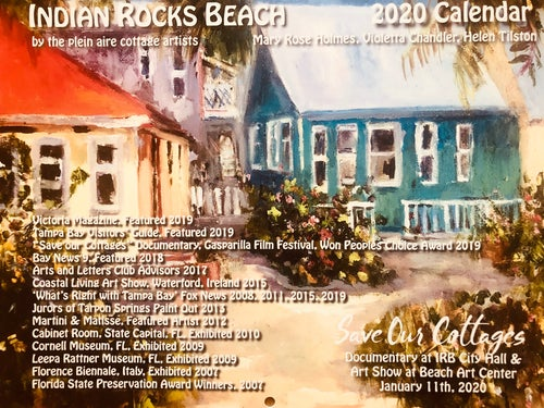 Image of Save Our Cottages 2020 Calendar by Mary Rose Holmes, Helen Tilston & Violetta Chandler