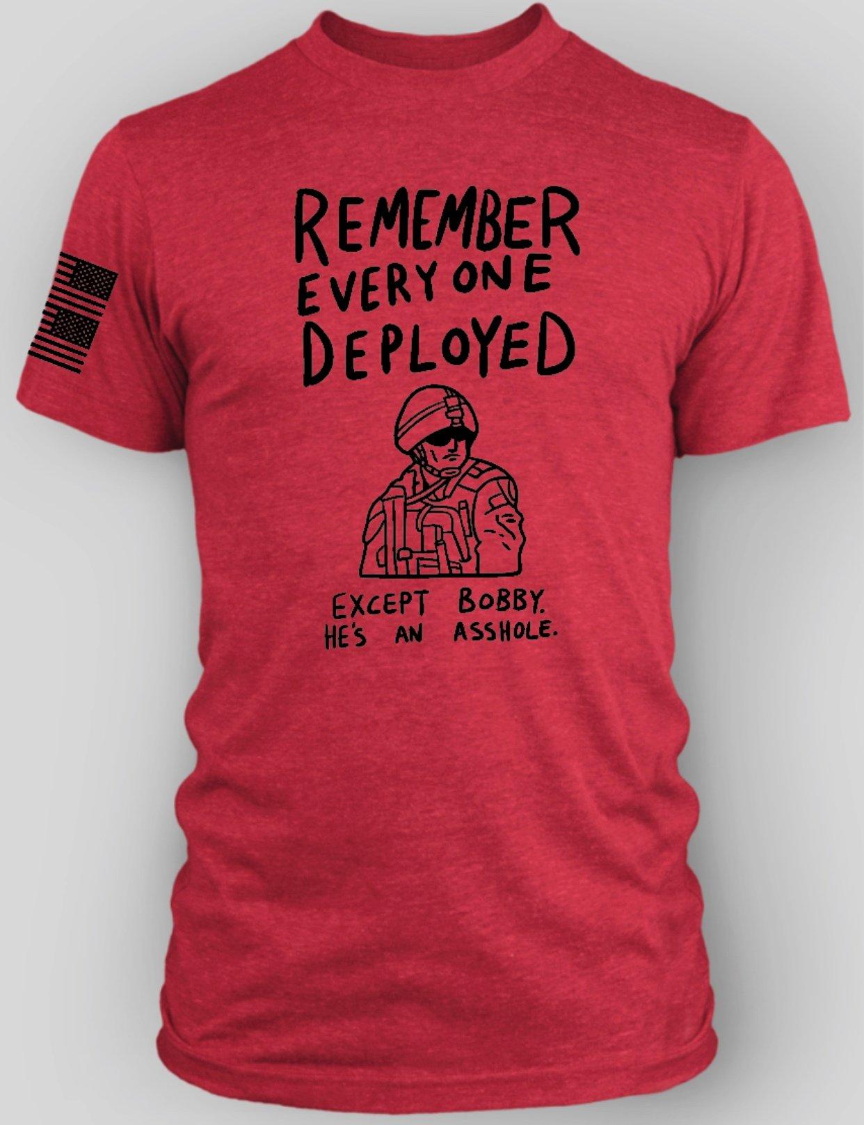 Image of R.E.D. (Except Bobby) T-Shirt