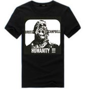 "Image of BRUCE CAMPBELL ""Humanity"" T-Shirt"