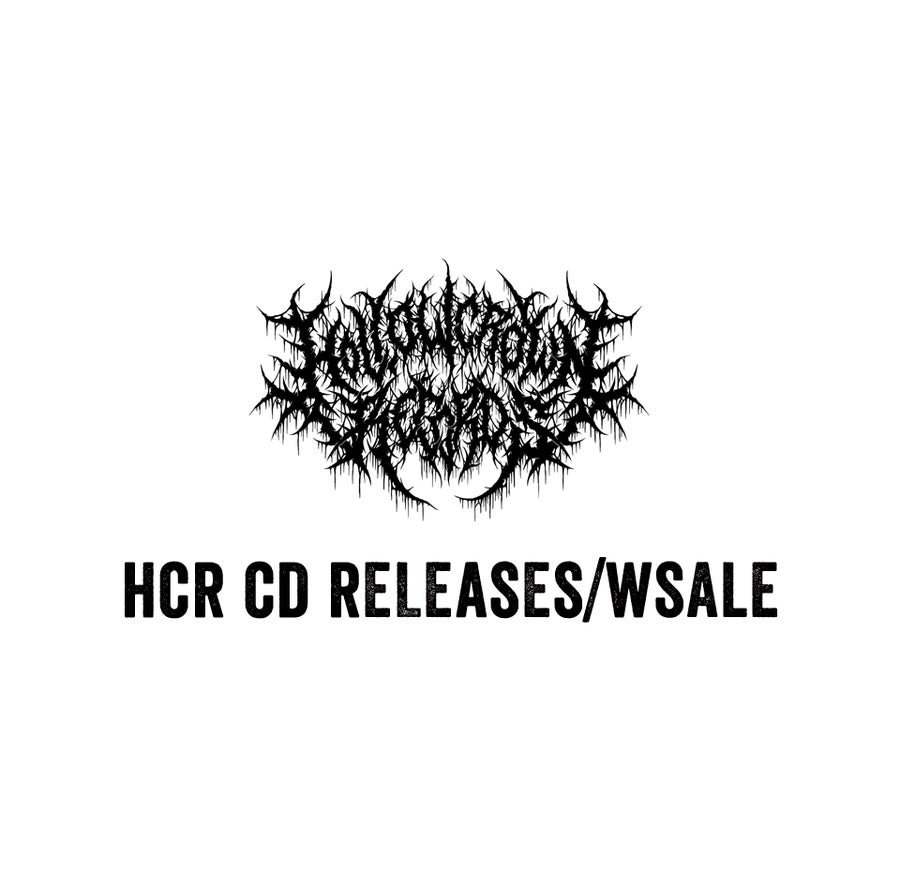 Image of HCR Past CD Release/ Wholesale