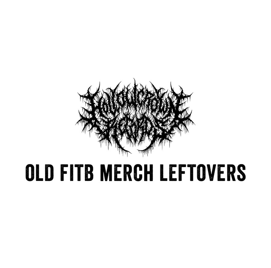 Image of Old FITB Leftover Merch