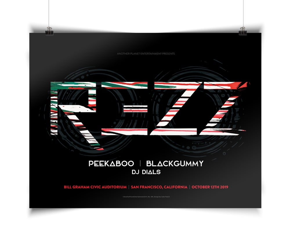 Image of REZZ Poster