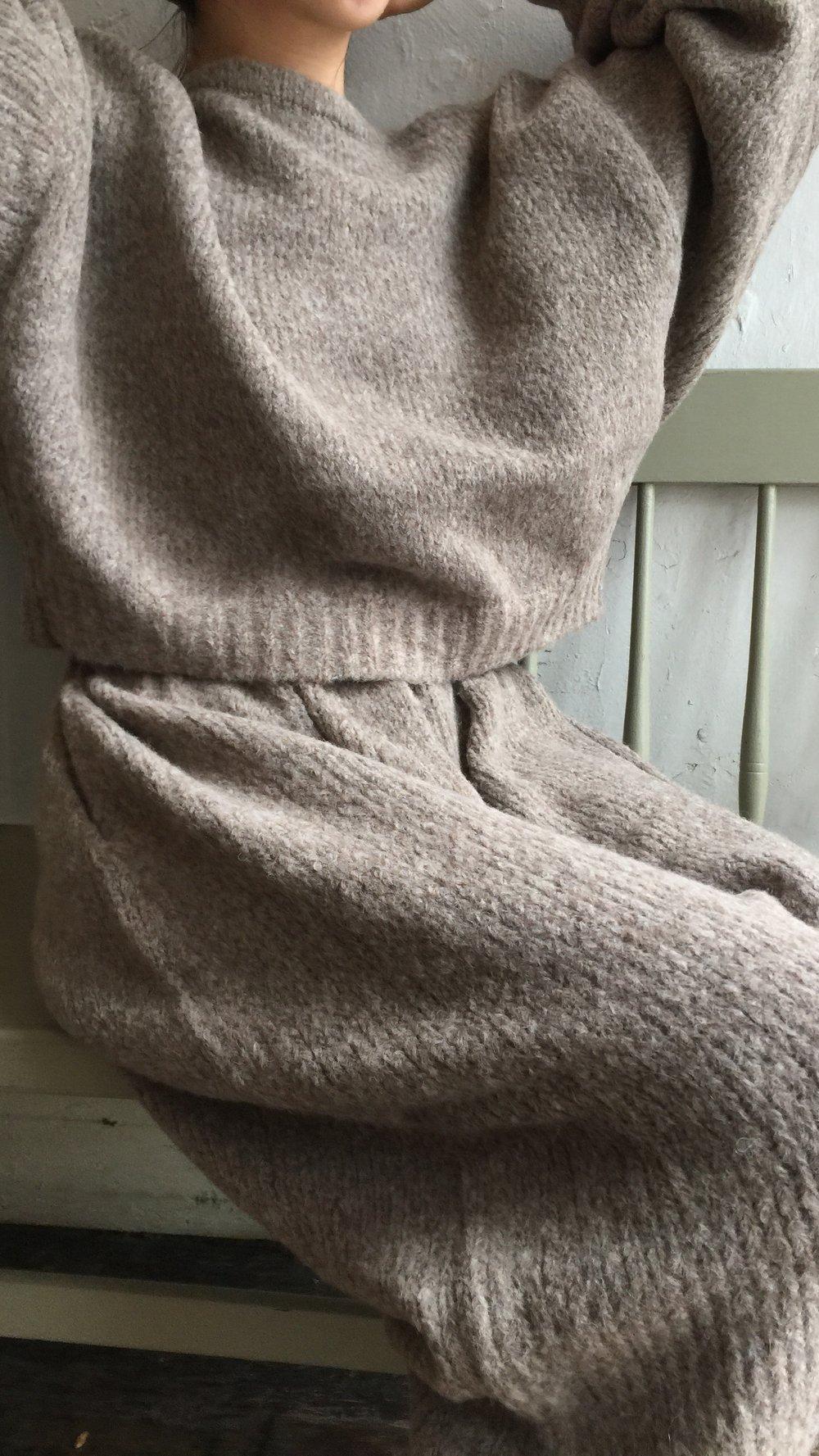 Image of Atelier Delphine Balloon Sleeve Sweater