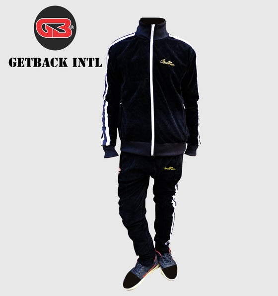 Image of Velour Track Suits-Velvet Track Suits