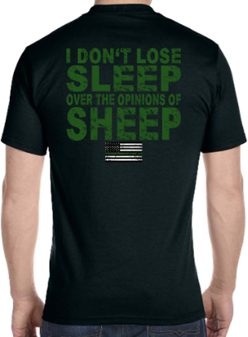 Image of I DON'T LOSE SLEEP OVER THE OPINIONS OF SHEEP
