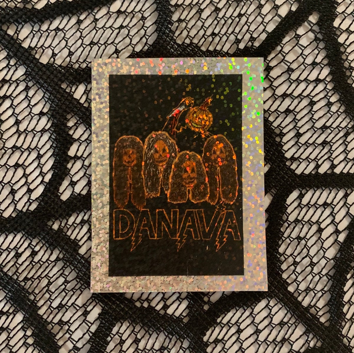 Image of Halloween 2019 Holographic Sticker