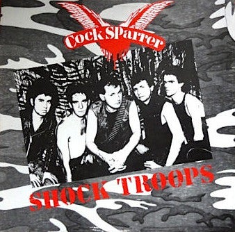 "Image of COCK SPARRER - ""Shock Troops"" LP (180g Color Vinyl)"
