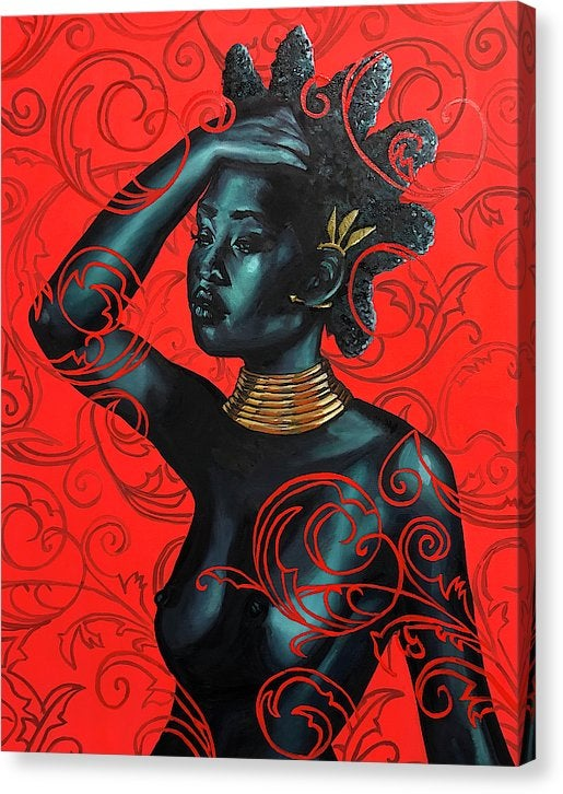 "Image of ""Naturally Crowned"" Original Painting"
