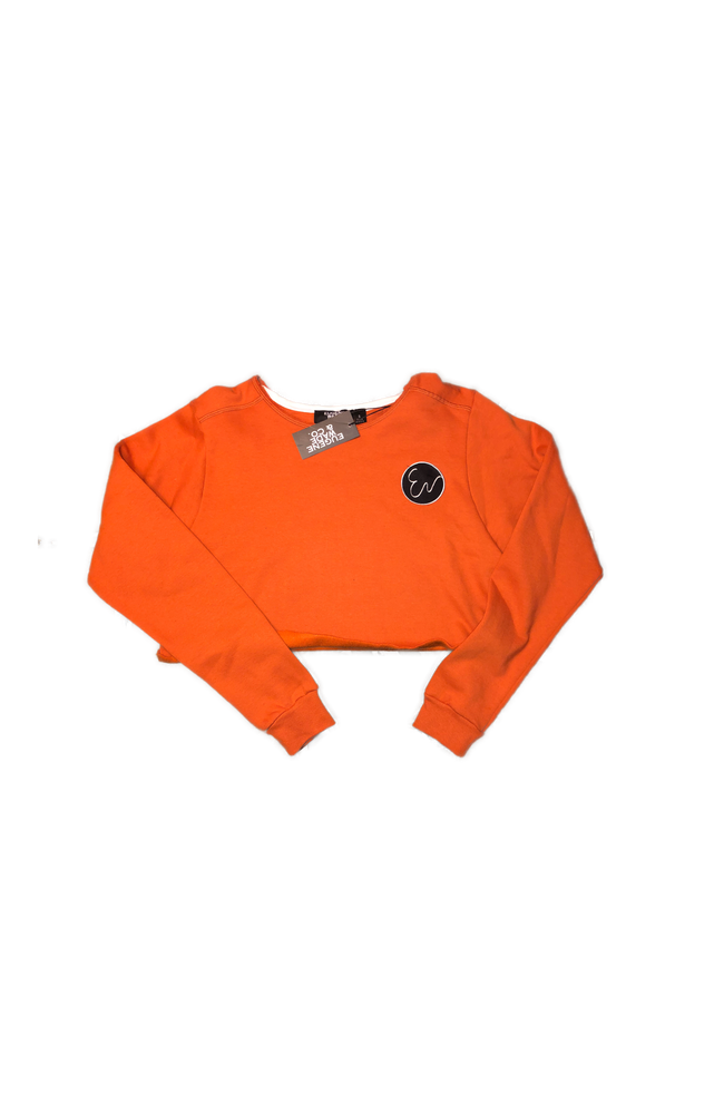 Image of CROP TOP (Burnt Orange)