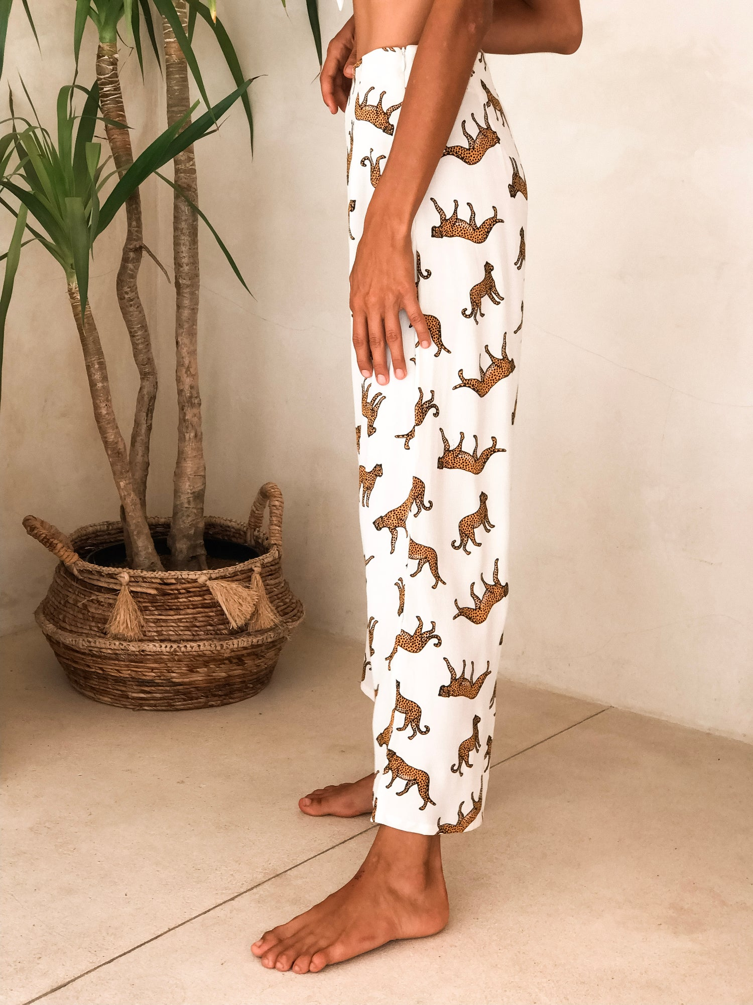 Image of MALI PANTS - WILDSIDE WHITE