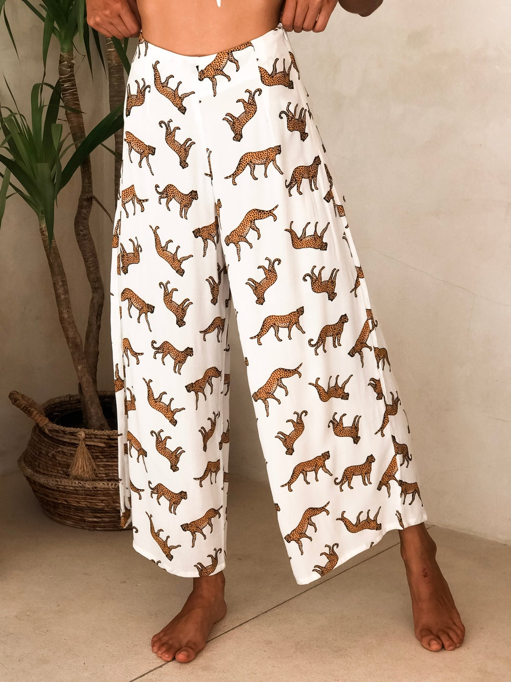 Image of MALI PANTS - WILDSIDE WHITE