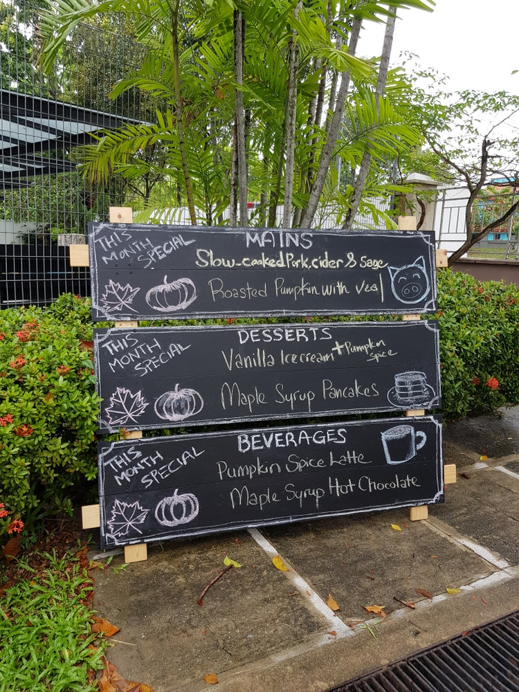 Image of Unique 3-Section Chalkboard