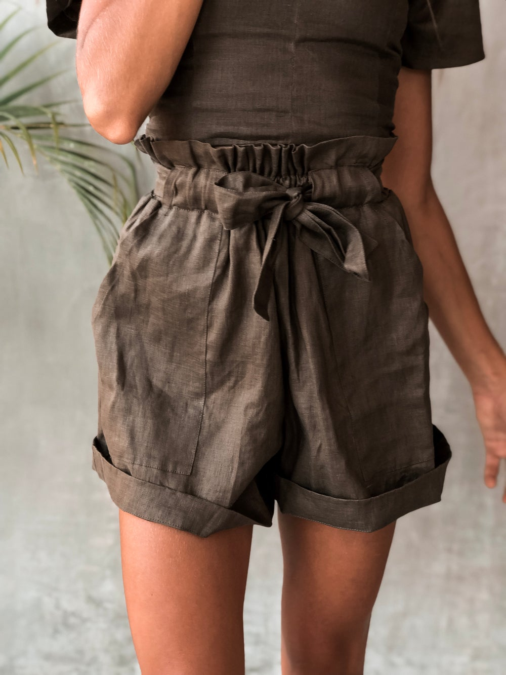 Image of RIVER SHORTS - OLIVE