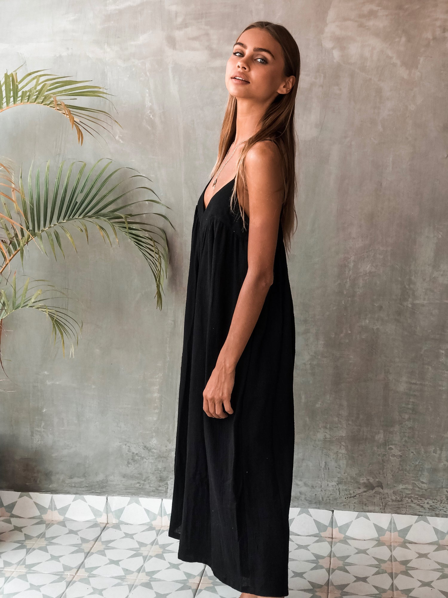 Image of JENKINS JUMPSUIT - BLACK