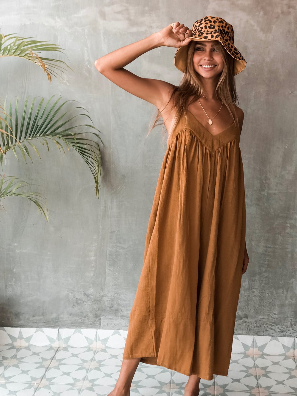 Image of JENKINS JUMPSUIT - GOLD