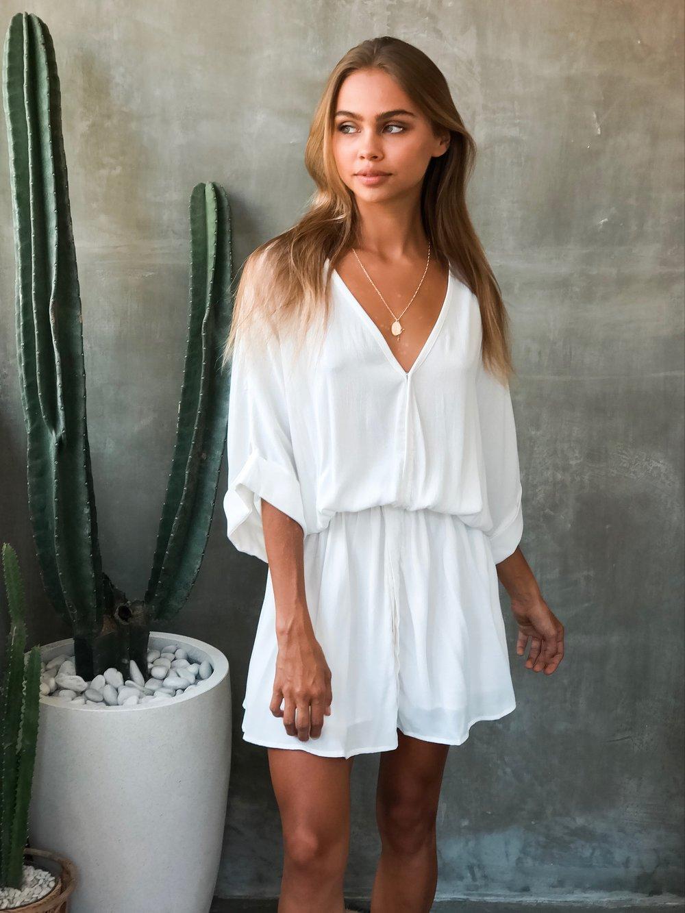 Image of DAHLIA DRESS - WHITE