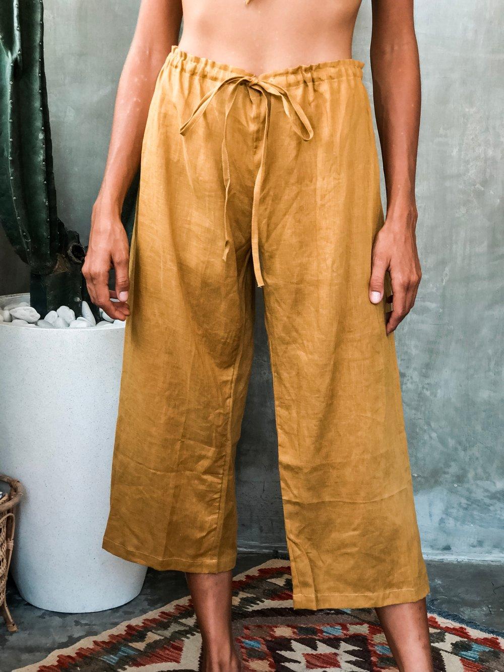 Image of AZUL PANTS - GOLD