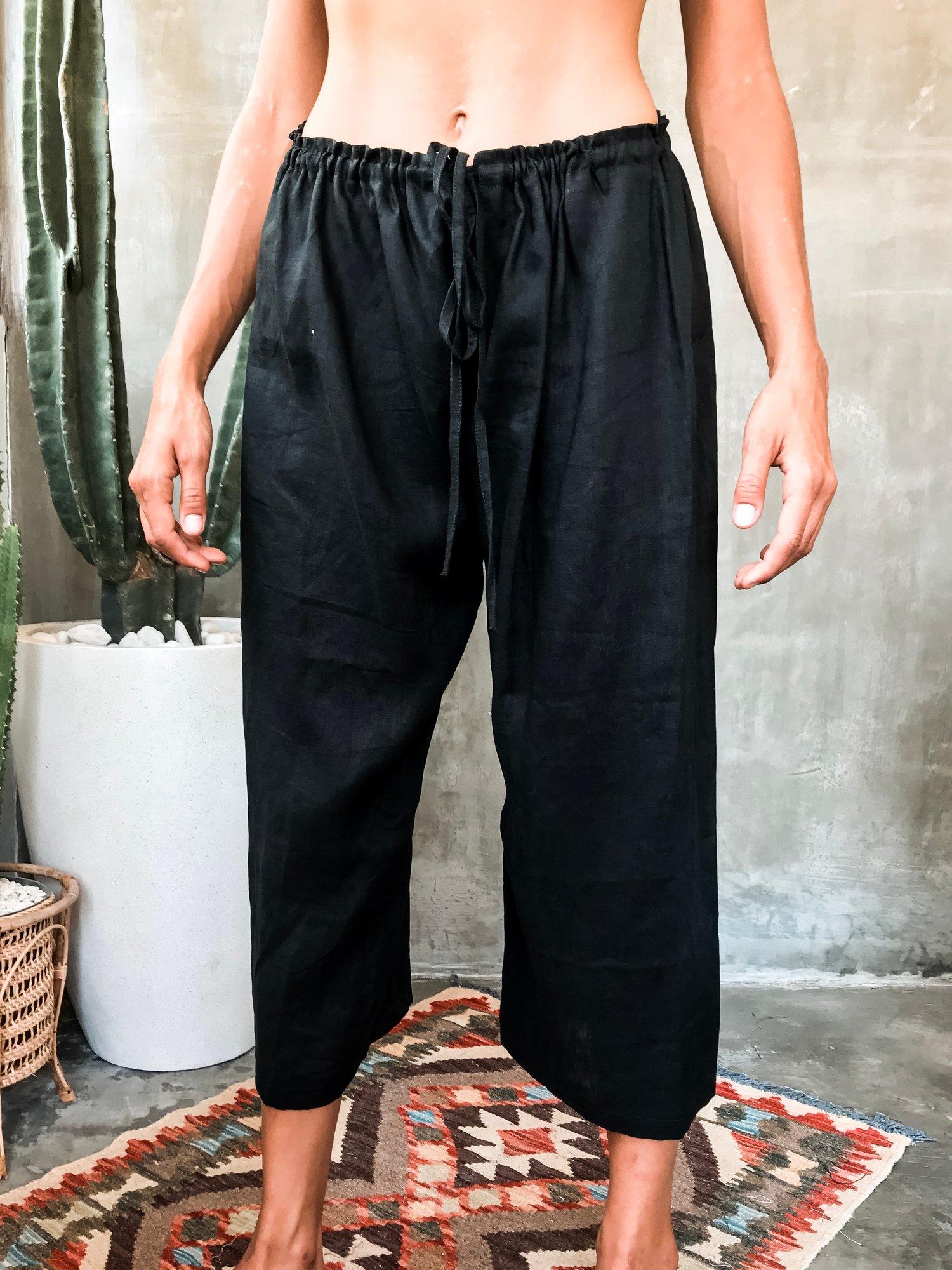Image of AZUL PANTS - BLACK