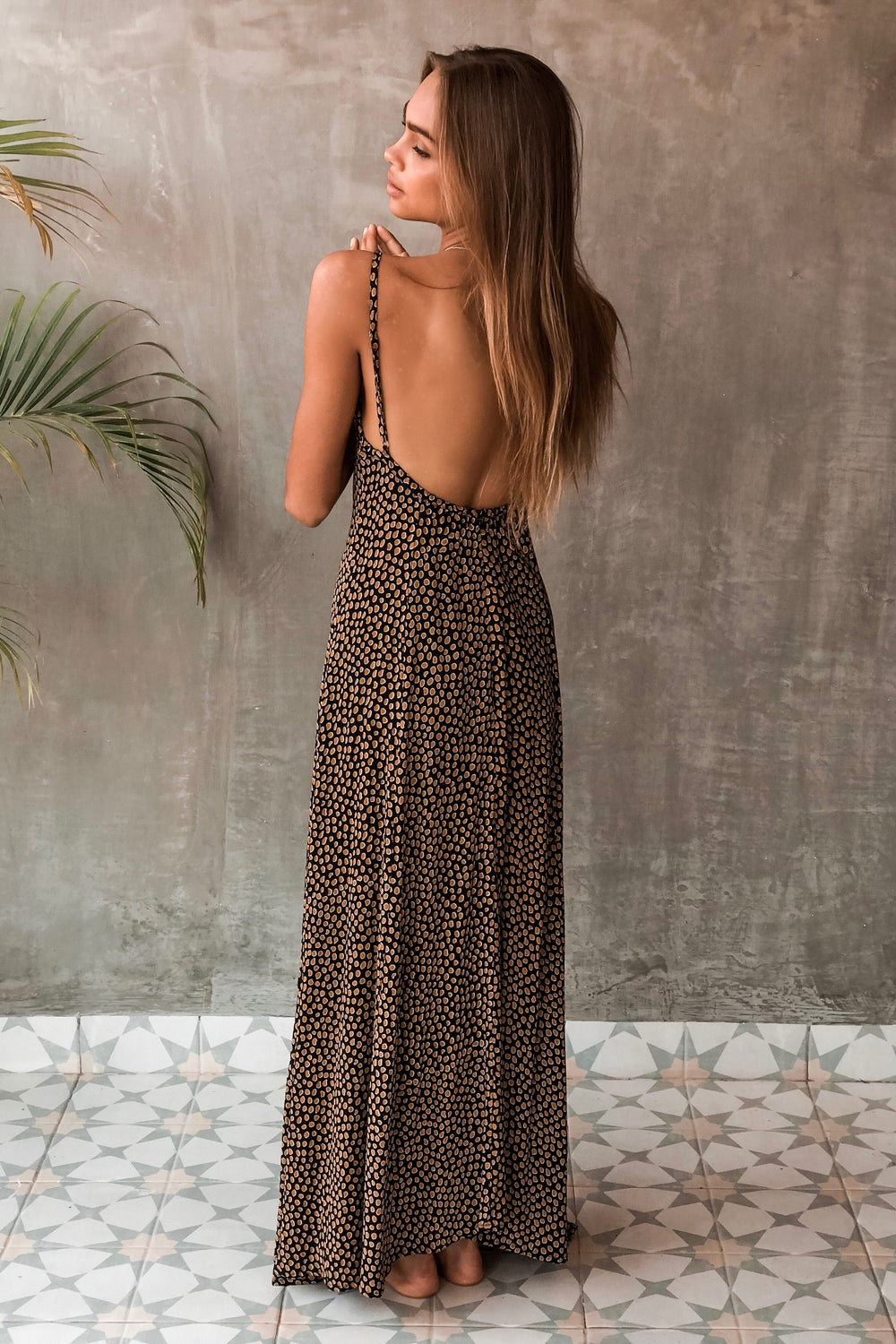 Image of VERADO MAXI DRESS - RANGER BLACK