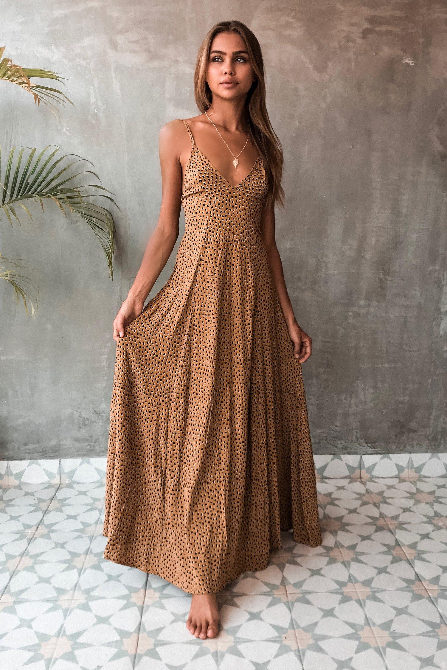 Image of VERADO DRESS - RANGER GOLD