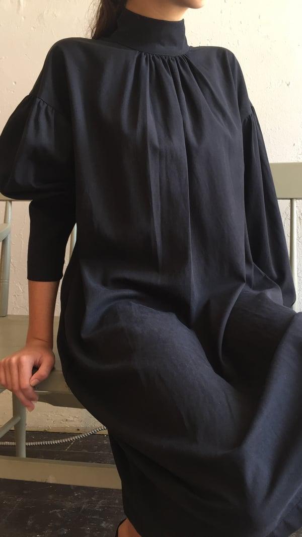Image of Black Crane Walnut Dress