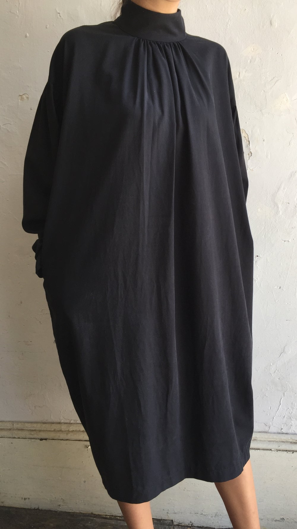 Image of Black Crane Walnut Dress