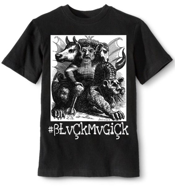 "Image of $9.99 Sale ""Asmodeus-Lust"" Tee from the ""Seven Deadly Sins"" Collection"