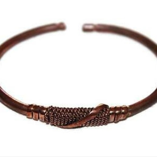 Image of Timeless Copper Cuff Bangle