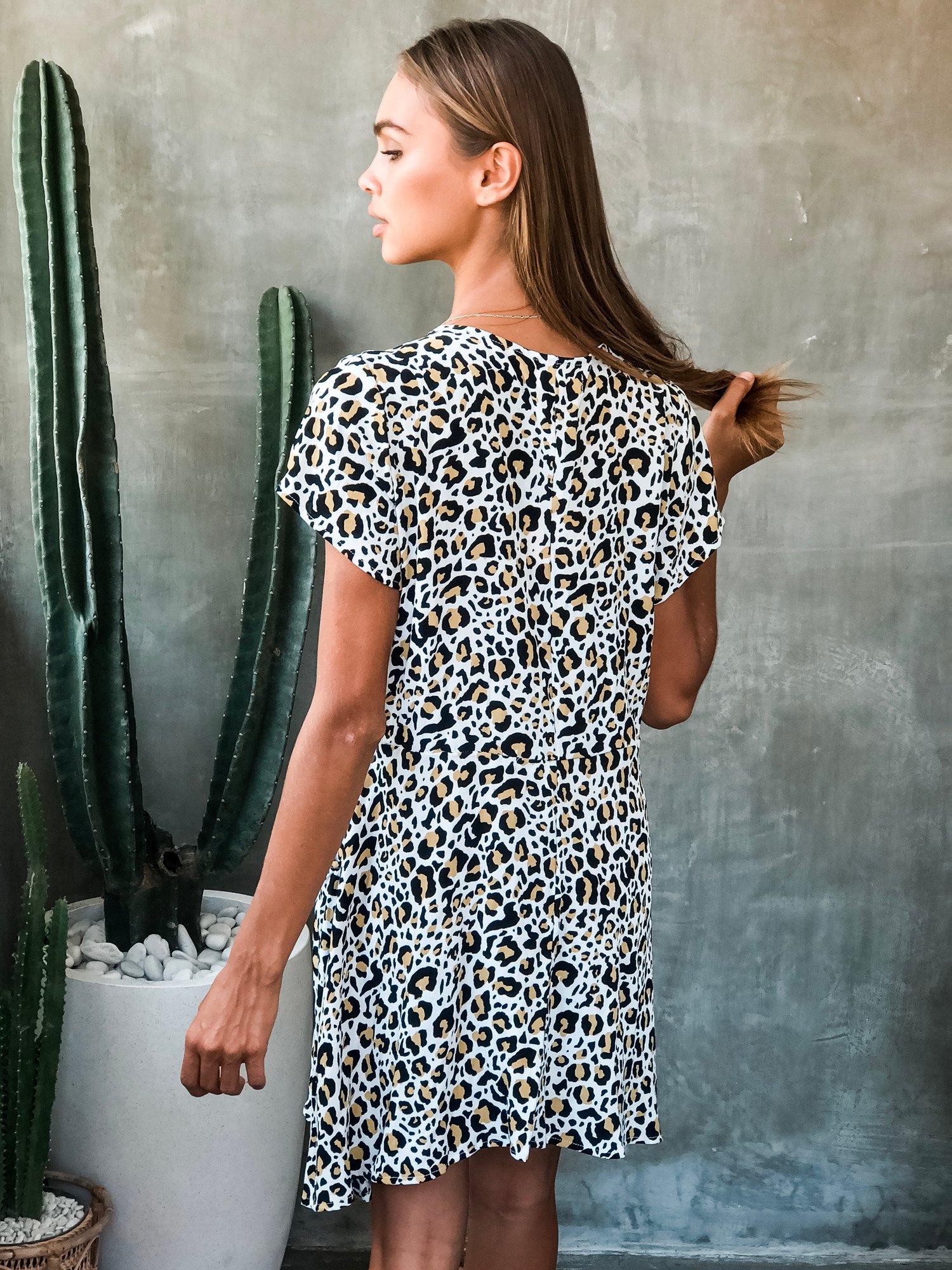 Image of CORAZON DRESS - SAFARI WHITE