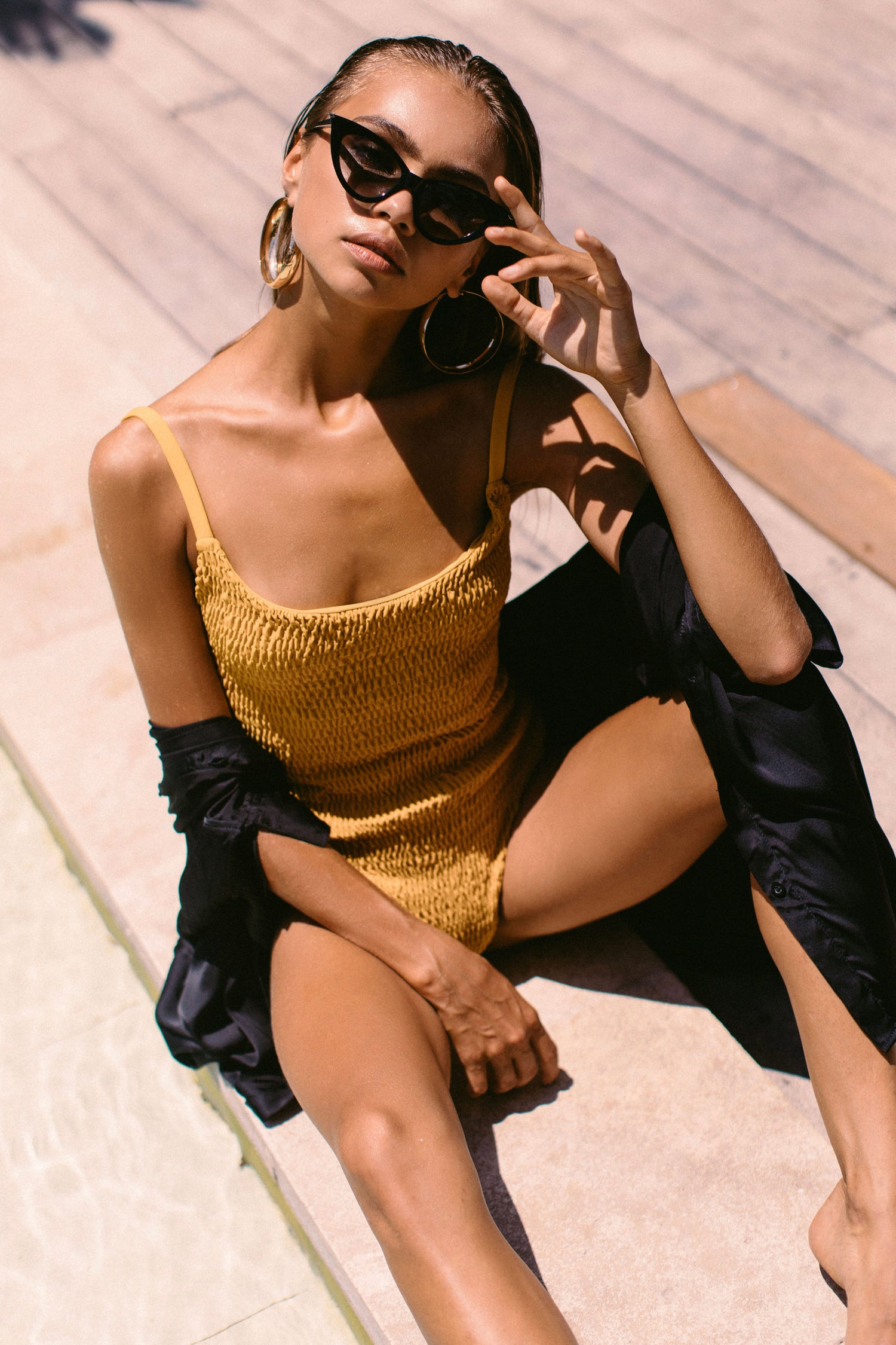 Image of AMIRA ONE PIECE - GOLD