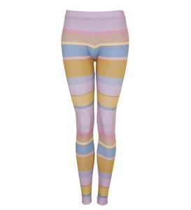 Image of Legging pastell ringel