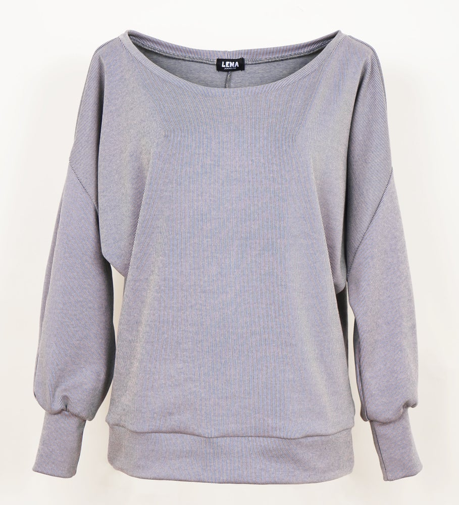 Image of Pullover chinablue Jacquard