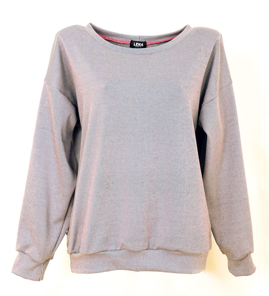 Image of Jacquard Pullover chinablue