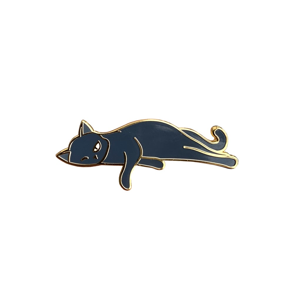 Image of Bounty the Cat Pin: Clinomania