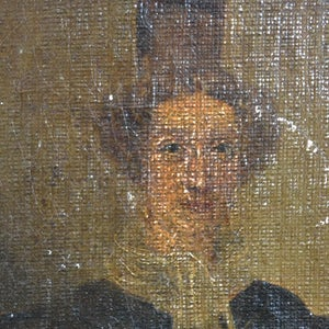 Image of Early 19thC Portrait Painting, 'Arlesian Woman.'