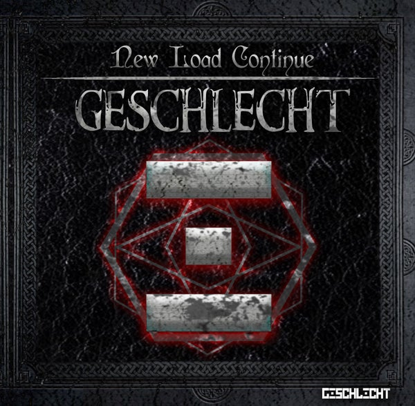 "Image of Geschlecht - ""New Load Continue"" - CD digipack format"