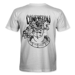"Image of ""Pig Shred"" White T-shirt"
