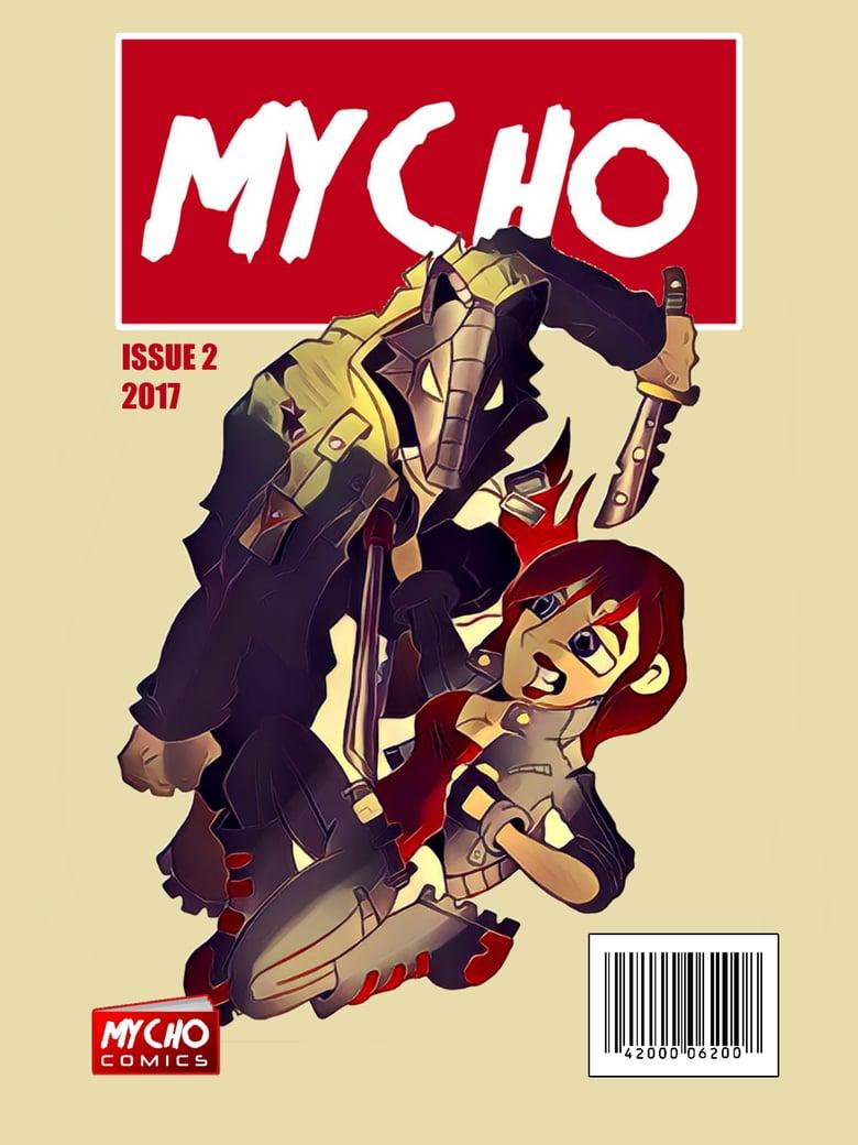 Image of MYCHO COMICS ISSUE 2