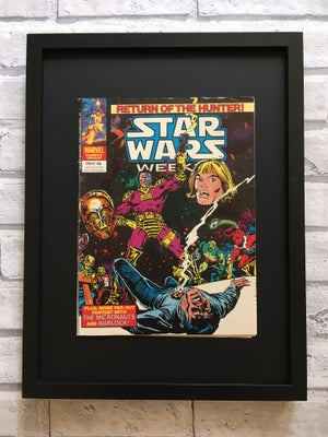 Image of Framed Vintage Comics-Star Wars