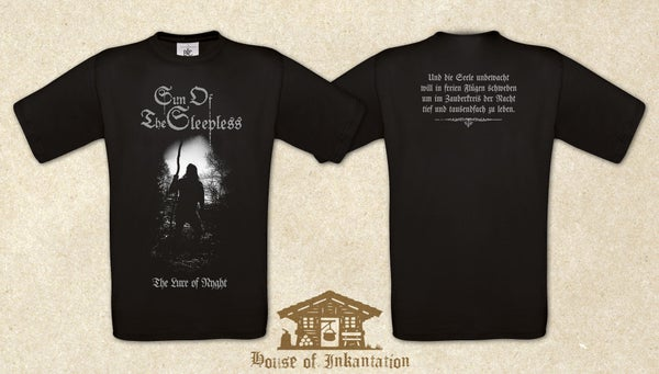 """Image of Brandnew Sun Of The Sleepless """"The Lure Of Nyght"""" II Ladies T-Shirt"""