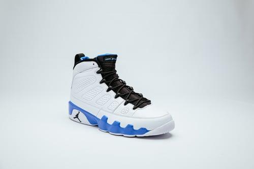 Image of Air Jordan 9 - Powder Blue