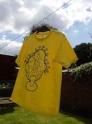 Image of Mens Yellow T-shirt
