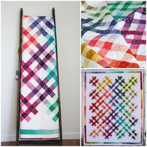 Image of Ombre Picnic Quilt Pattern PDF