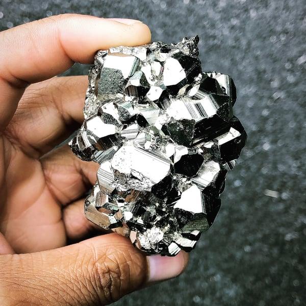 Image of Peruvian Pyrite Cluster