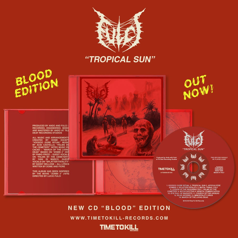 "FULCI - Reprinted - SPECIAL ""BLOOD EDITION"""