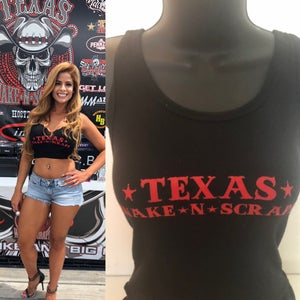 Image of Ladies Tank Top - Texas Wake*N*Scrape